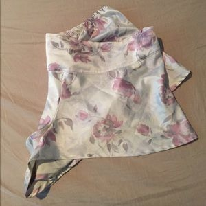JLo silky sleep shorts